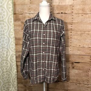 Women's Woolrich button down flannel size Small